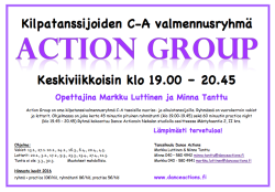 Action Group kevät 2016